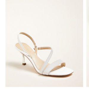 Ann Taylor Annette Embossed Slingback Sandals